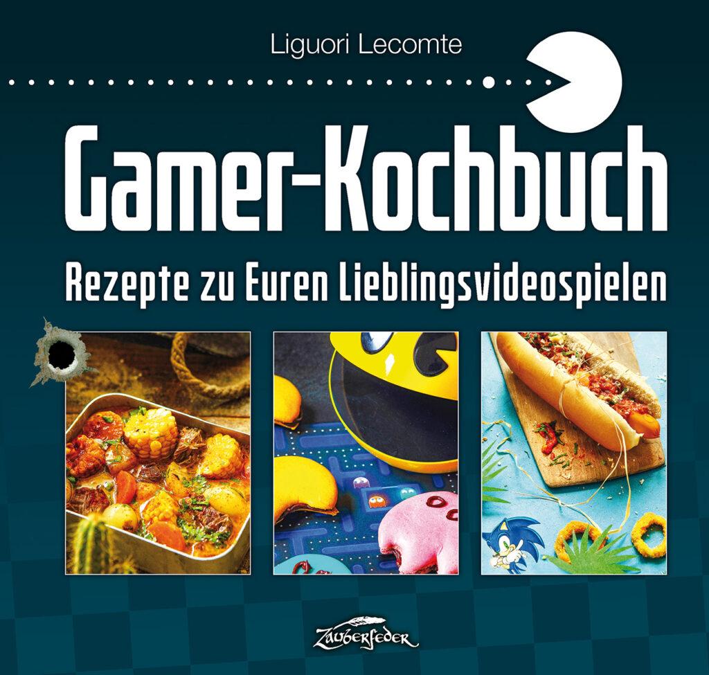 Cover des Gamer-Kochbuchs von Zauberfeder