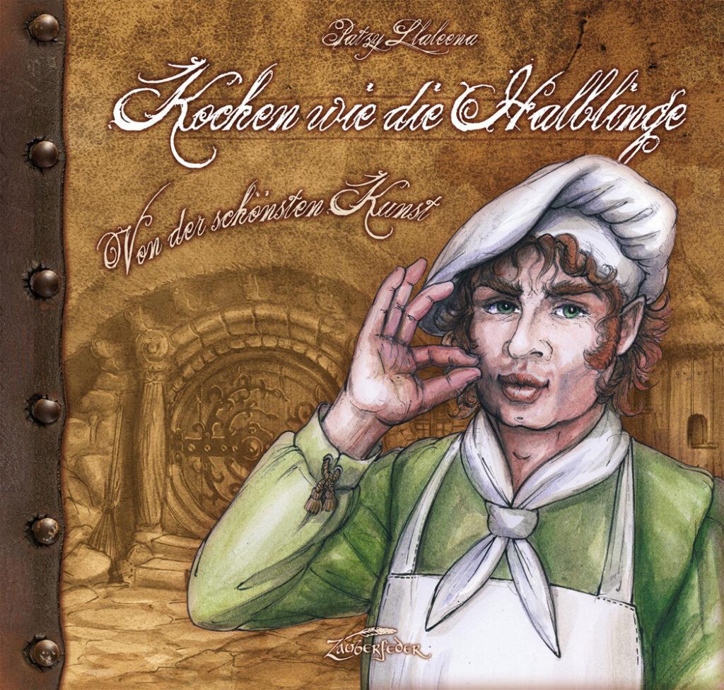 "Cover des Kochbuchs ""Kochen wie die Halblinge"""