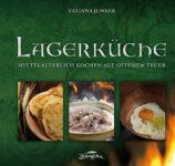 Grünes Cover des Kochbuchs Lagerküche