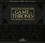 Schwarzes Cover vom offiziellen Kochbuch zu Game of Thrones